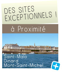 Sites à proximité : Saint-Malo Dinard, Mont-Saint-Michel